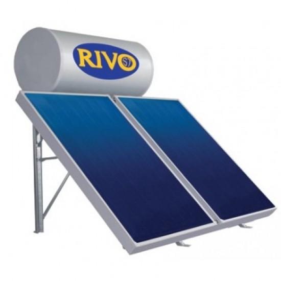 ΗΛΙΑΚ GLASS ΙΙ ST200T 2X1,5M2 ΤΑΡΑΤΣΑ RIVO ST Ηλιακοί θερμοσίφωνες φυσικής ροής